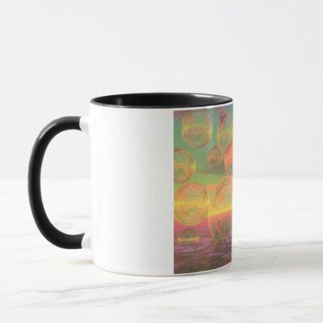 Autumn Ruminations – Gold & Rose Glory Mug