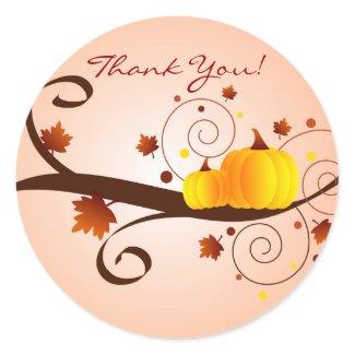 Autumn Thank You! - sticker sticker