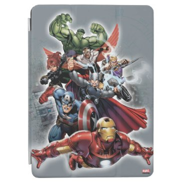 Avengers Attack Graphic iPad Air Cover
