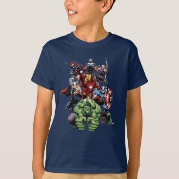 Avengers Classics | Hulk Leading Avengers T-Shirt