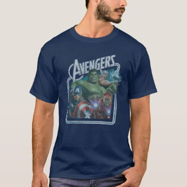 Avengers Classics | Retro Throwback Avengers Art T-Shirt