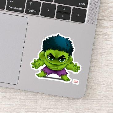 Avengers Classics   The Hulk Stylized Art Sticker