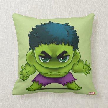 Avengers Classics | The Hulk Stylized Art Throw Pillow
