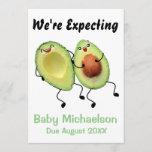 Avocado Couple Pregnancy Announcement