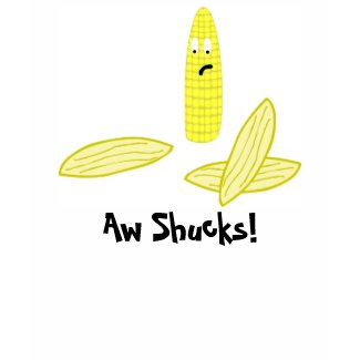 Aw Shucks! Tank top shirt