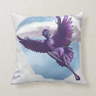 Awjakawa Throw Pillow