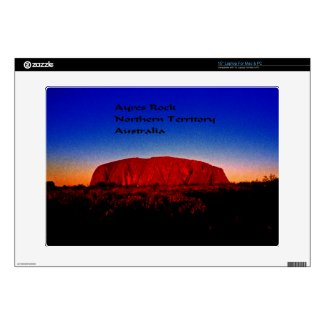 "Ayres Rock Australia 15"" Laptop Skin"