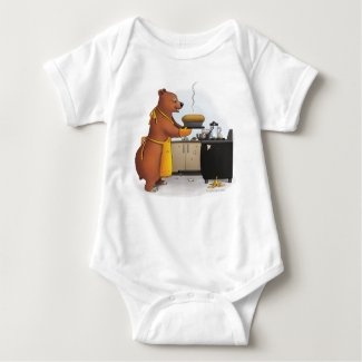 B is for Bear and Banana Bread T Shirt