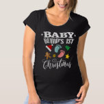 Baby Bump's First Christmas Maternity T-Shirt