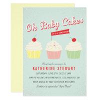 Baby Cakes Baby Shower Invite