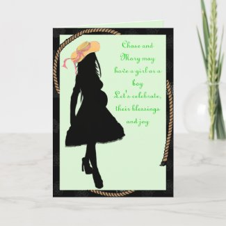 Baby Shower Invitation Cards card