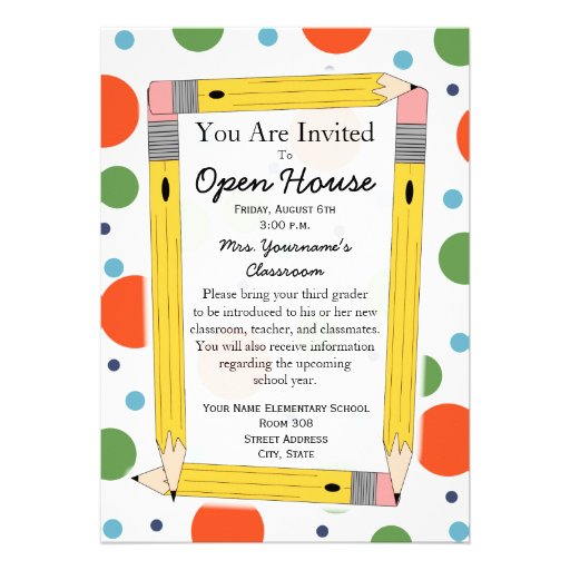 Open House Invitation Template. behance home and open house ...