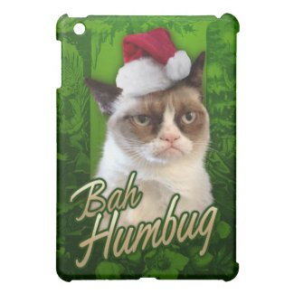 Bah Humbug Grumpy Cat iPad Mini Covers