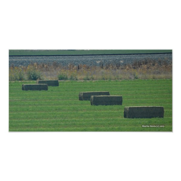 Bales of Hay II - Photo Print