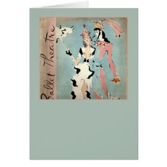 Ballet and Theatre Greeting Cards