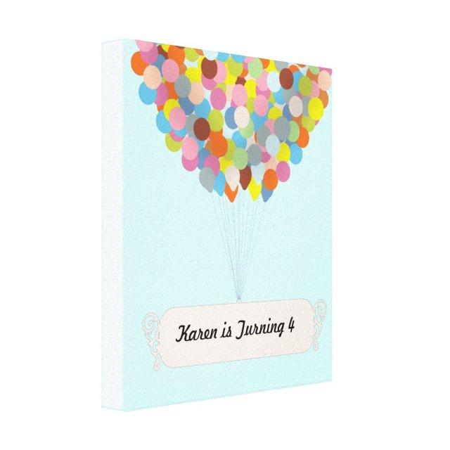 Balloon Celebration Canvas Print