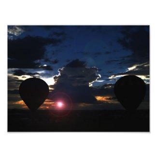 Balloon's at Dusk photoenlargement