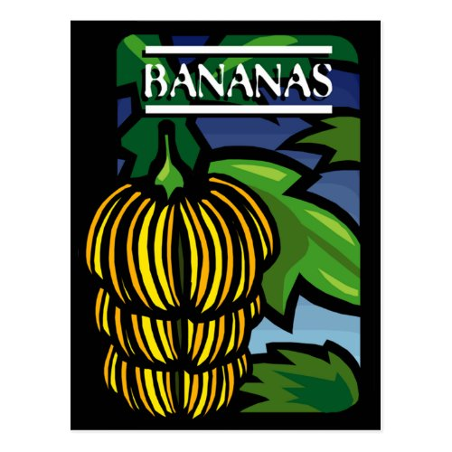 Bananas Postcard