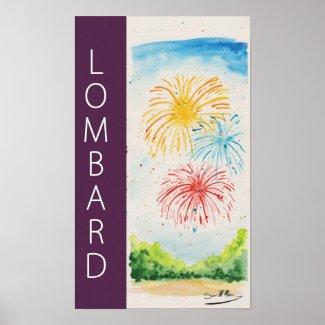 Banner Fireworks Poster