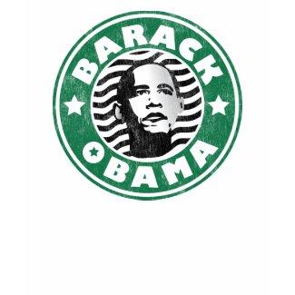Barack Obama Star Caffeine shirt