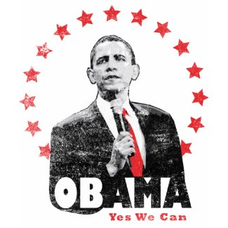 Barack Obama - Yes We Can shirt