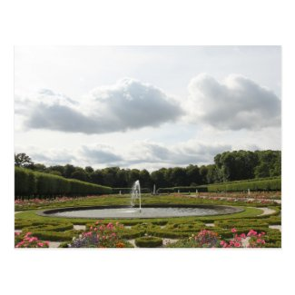 Baroque Castle Garden - Augustusburg Palace Postcards