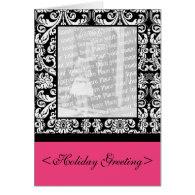 Baroque Damask Greeting Card
