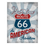 Barstow Route 66 Vintage America California Poster