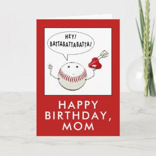 Baseball Mom Cards Zazzle