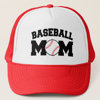 Baseball Mom funny Hat