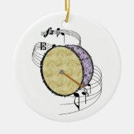 Bass Drum Ornament