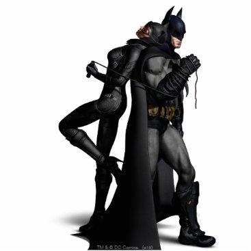 Batman Arkham City   Batman and Catwoman Statuette