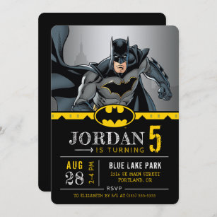batman invitations zazzle