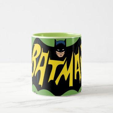 Batman Classic TV Series Logo Two-Tone Coffee Mug
