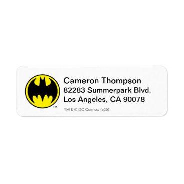 Batman Symbol | Bat Circle Logo Label