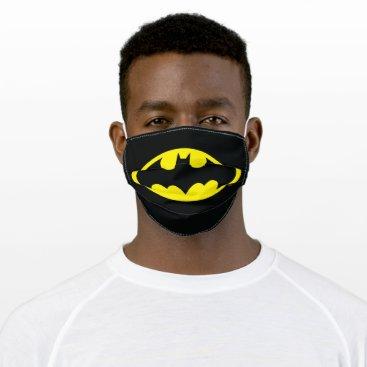 Batman Symbol | Bat Oval Logo Adult Cloth Face Mask