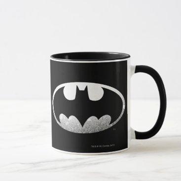 Batman Symbol   Grainy Logo Mug