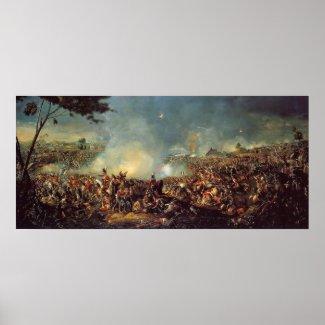 Battle of Waterloo by William Sadler Print