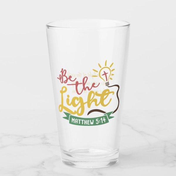 Be the Light Christian Glass