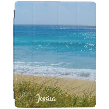 Beach and Sea Personalized Name iPad Smart Cover