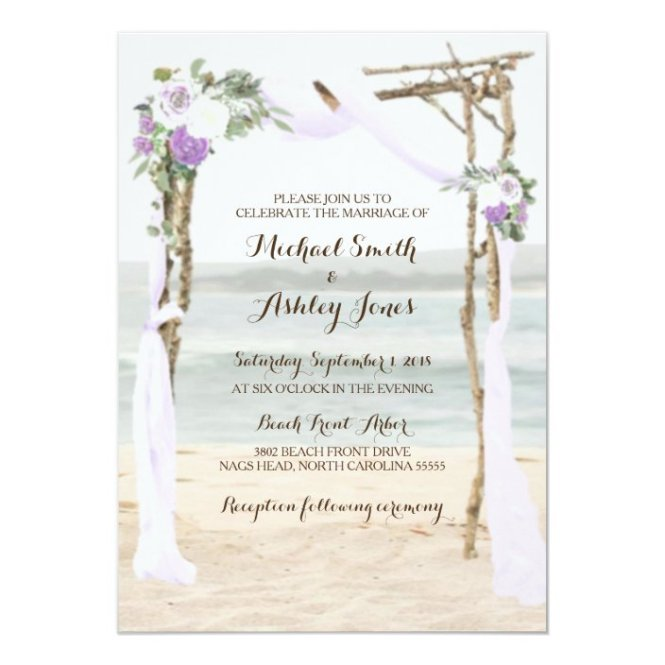 Lavender Wedding Invitations Zazzle