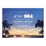 Fun I Do Beach Sunset BBQ Invitation