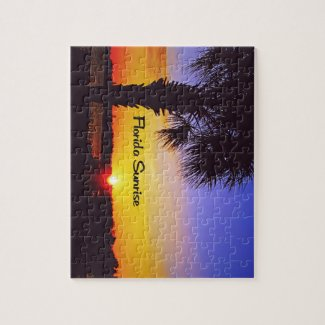 Beautiful Florida Sunrise Jigsaw Puzzles