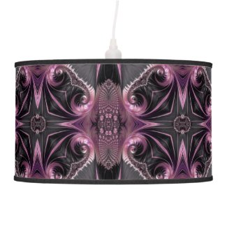 Beautiful Fractal Butterfly Art Hanging Lamps