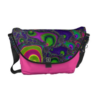 Beautiful Fractal Swirls Courier Bag