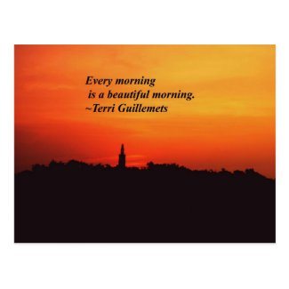 Beautiful Mornings Post Cards