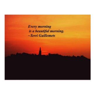 Beautiful Mornings Post Cards