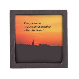 Beautiful Mornings Premium Jewelry Box