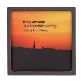 Beautiful Mornings Premium Trinket Boxes