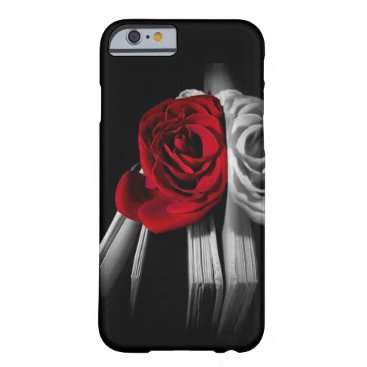 Beautiful Red Rose in book Barely There iPhone 6 Case